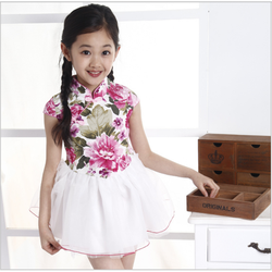 Đầm cao cấp cho bé gái từ 3-8 tuổi V305