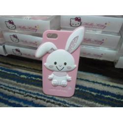 Ốp iphone 6 plus thỏ dễ thương ngộ nghĩnh