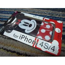 Ốp iphone 4 4s mickey siêu dễ thương nhựa bóng