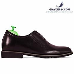Giày tây màu nâu tăng chiều cao 5-7cm