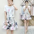 Set váy + áo họa tiết cao cấp - LV767