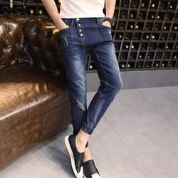 Quần Jeans Nam Jogger phong cách thời trang QJ1991