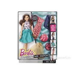 Đồ chơi búp bê Barbie Bộ sưu tập thời trang sáng tạo - Váy xanh