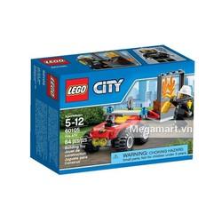 Đồ chơi Lego City 60105 Xe cứu hỏa cơ động