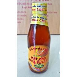 Mật ong Hoa Nhãn nguyên chất chai 200ml hàng công ty chất lượng