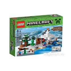 Lego Minecraft 21120 - Căn cứ băng giá