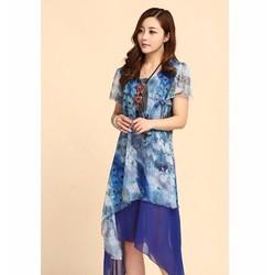 DM158 - HÀNG NHẬP ĐÀI LOAN - Đầm Voan Suông - M~3XL