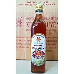 Mật ong Hoa Nhãn nguyên chất chai 500ml hàng công ty chất lượng