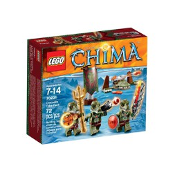 Lego Chima 70231 - Bộ Tộc Cá Sấu