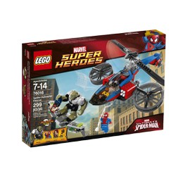 Lego Super Heroes 76016 Spider - Helicopter Rescue