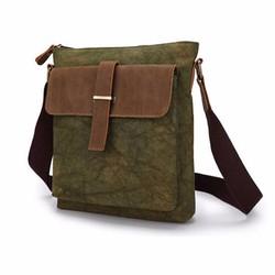 Túi đeo nam sang trọng màu rêu TC203