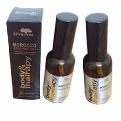 2 chai Tinh Dầu Dưỡng Tóc Morocco Argan Oil  - Body Hair