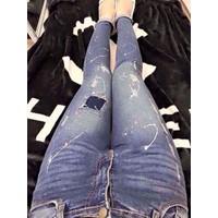 QUẦN JEAN HỌA TIẾT