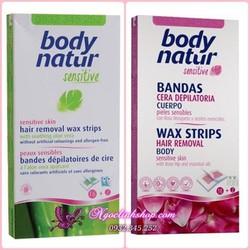 Miếng wax tẩy lông Body Natur Sensitive