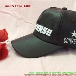 Nón lưỡi trai da Conver Hàn Quốc sành điệu NT254