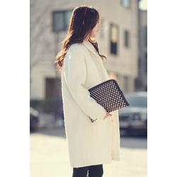 Manto dạ cao cấp Style Hàn Quốc