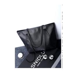 Túi xách nữ đẹp bản to đeo vai màu đen