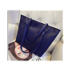 Túi xách nữ đẹp bản to đeo vai màu xanh đen