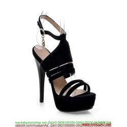 Giày cao gót sandal hở gót sành điệu sang trọng GCN253