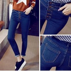 hàng cao cấp quần jean nữ nhiều cúc