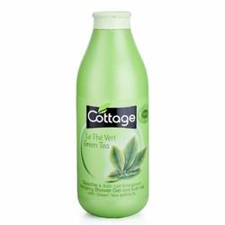 COTTAGE - SỮA TẮM SHOWER GEL AND BATH MILK WITH GREEN TEA 750ML