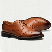 Giày da nam cao cấp, da thật, mẫu mới 2016 ZS039