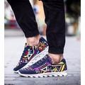 giày sneaker nam họa tiết Mã: GH0309 - XANH