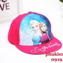 Nón snapback công chúa Elsa 3D - N025