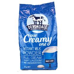 Sữa tươi nguyên kem dạng bột Devondale 1kg