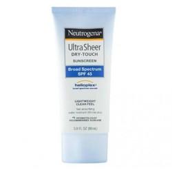 Kem chống nắng Neutrogena Ultra Sheer Dry Touch Sunscreen SPF 45