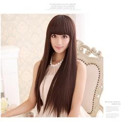 bộ tóc giả thẳng dài Hàn Quốc