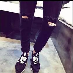 Quần jeans nam rách gối – QJ8B