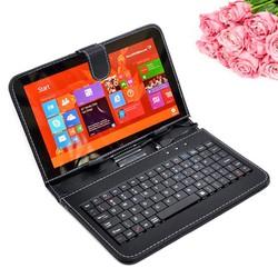 Bao da bàn phím máy tính bảng 10 inch có giá đỡ