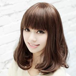 bộ tóc giả uốn cúp Hàn Quốc