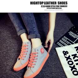 Giày nữ cổ cao Hàn Quốc phong cách Bomdo - BGT88