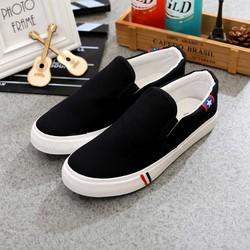 Giày slip on đôi nam nữ mã T17
