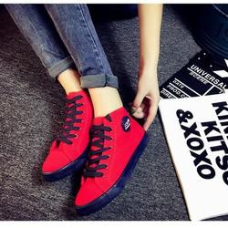 Giày nữ cổ cao Hàn Quốc phong cách Bomdo - BGT90