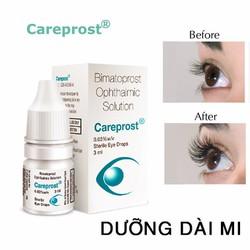 Thuốc dưỡng dày và dài mi Careprost