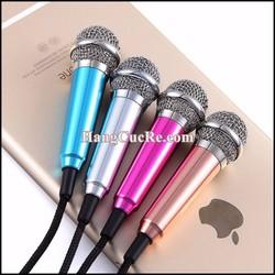 Micro mini hát karaoke trực tiếp trên điện thoại