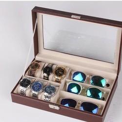Hộp đựng đồng hồ + mắt kính
