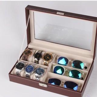 Hộp đựng đồng hồ + mắt kính - 6H3K 1
