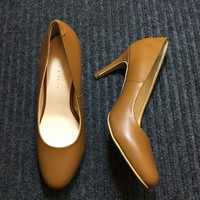Giày cao gót da thật hàng xuất 1039