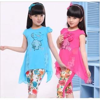 Bộ quần áo cho bé gái V273-003 17-22kg - V279-003 thumbnail