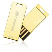 USB Transcend 8GB JETFLASH T3G, Golden_TS8GJFT3G