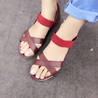 Giày sandals quai chéo SDQN07