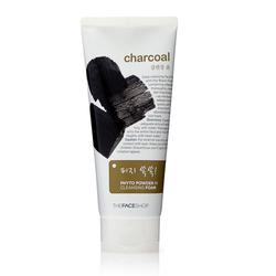 Sửa rửa mặt than hoạt tính Charcoal  Cleansing Foam 150ml