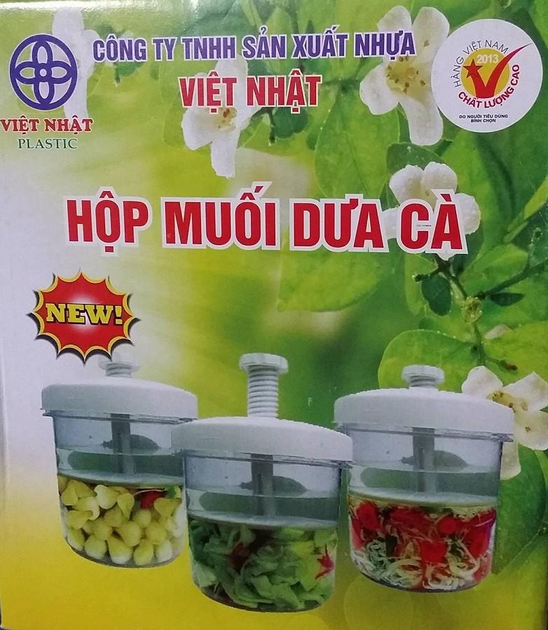 Hộp muối dưa cà Việt Nhật 1