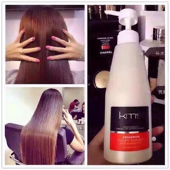 Phục hồi tóc KMS 500ml 4