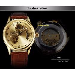 Đồng hồ CƠ dây da SEWOR chạy TỰ ĐỘNG SW1104