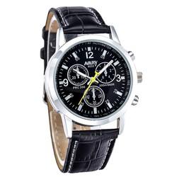 Đồng hồ dây da Nary AL75,